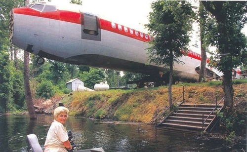 引退した飛行機の再利用12