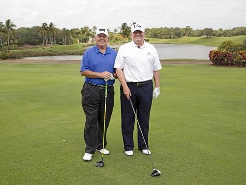 トランプ大統領のゴルフ記録00
