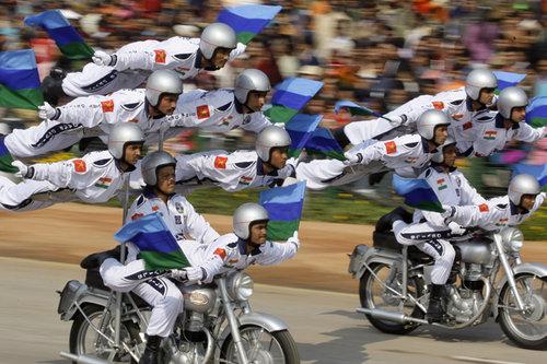 インドの軍事パレード03
