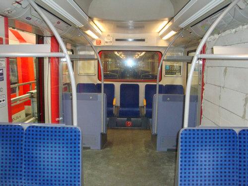 ドイツの電車でいたずら02