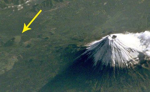 宇宙から見た「富士山」07