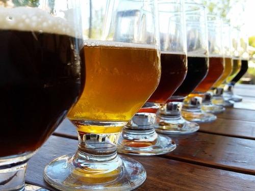 ビール醸造所の貼り紙