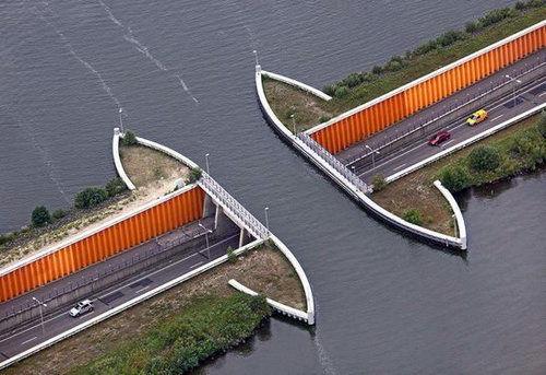 フェルウェ湖の水路01