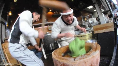 日本の餅つき03