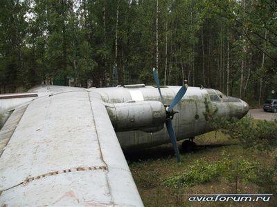 森に捨てられたロシアの輸送機10