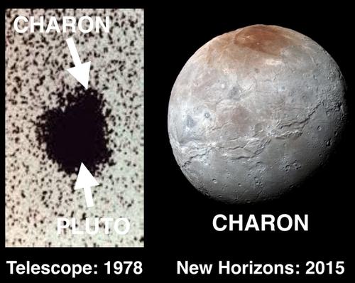 冥王星の衛星カロン01