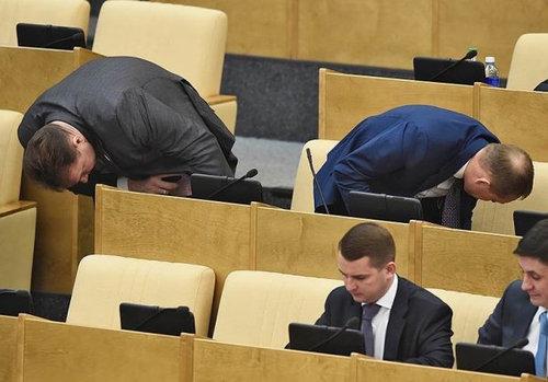 ロシアの議会風景14