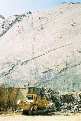 ボリビアの恐竜の足跡04