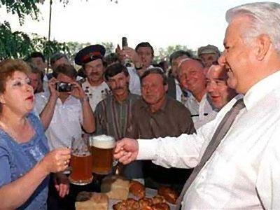 ロシアでビールがアルコール飲料に