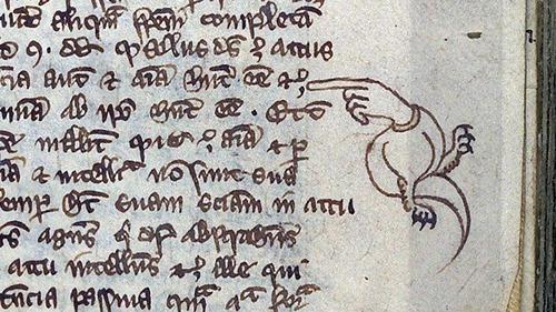ヨーロッパ中世の書物の注記04