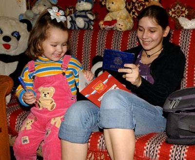 14歳の母どころか11歳で母になったロシア少女2