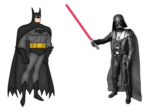 ダースベイダーとバットマン00