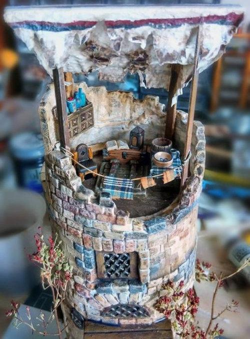 プリングルスからミニチュアの塔10