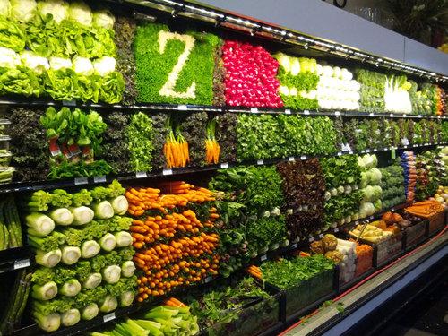 野菜の陳列アート04