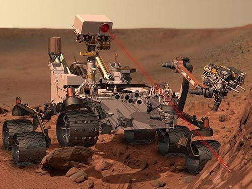 火星探査のローバー02