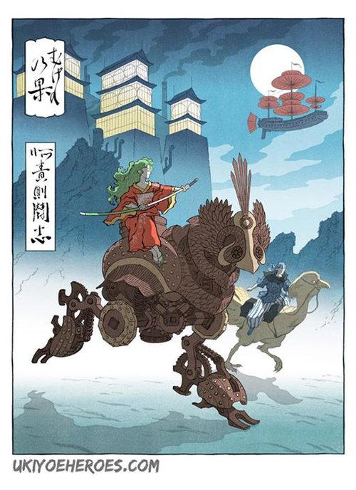 浮世絵ヒーロー11