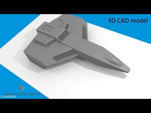 3Dプリンターで世界最小、30ミクロンのボートを00
