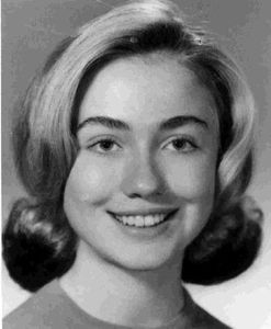 若い頃のクリントン夫妻とオバマ氏とブッシュ大統領04
