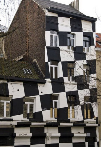 ドイツの真黒な家09