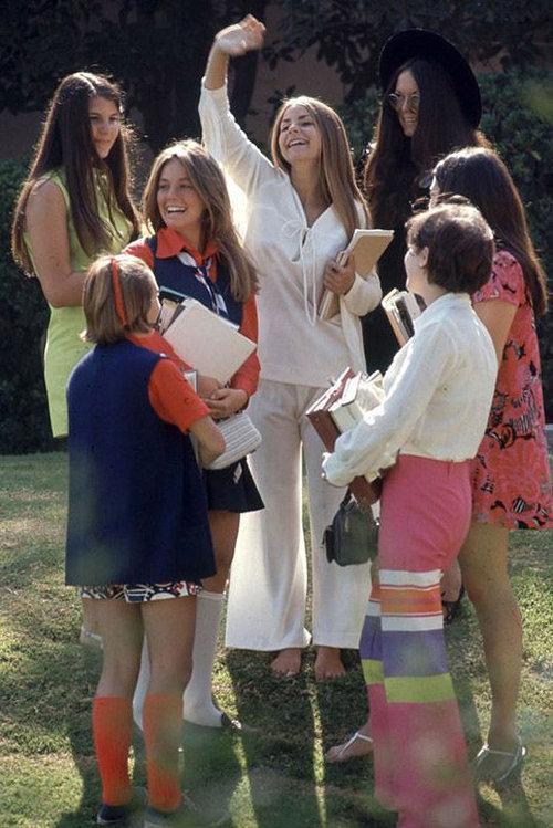 40年前のアメリカの女子高生ファッション14
