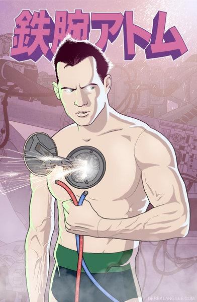 アメコミ作者が日本の漫画キャラクターを描いたら01