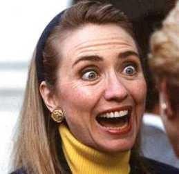 若い頃のクリントン夫妻とオバマ氏とブッシュ大統領06