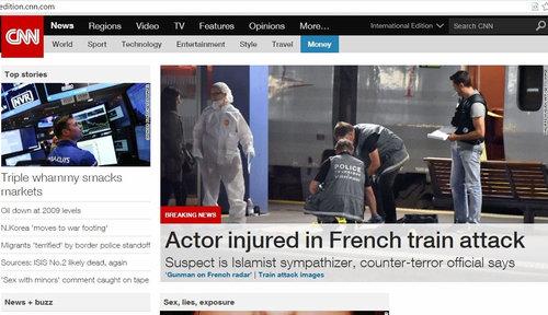 フランスの国際特急列車でテロを防いだアメリカ兵01