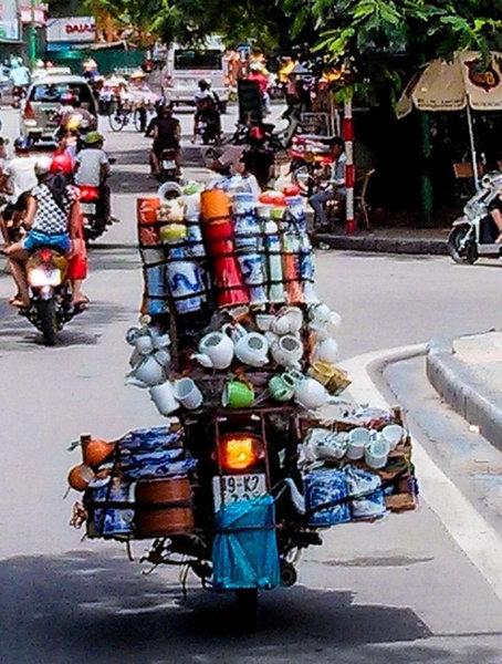 バイクで物を運ぶ限界02