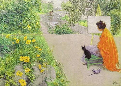 有名画家の描いた猫06