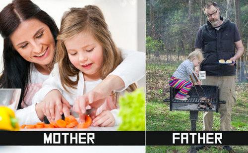 ママとパパの子育ての決定的な違い01