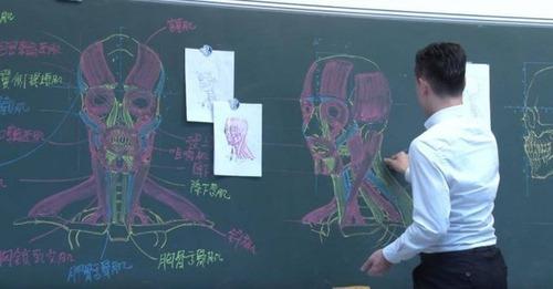 絵の上手な教師の人体図05