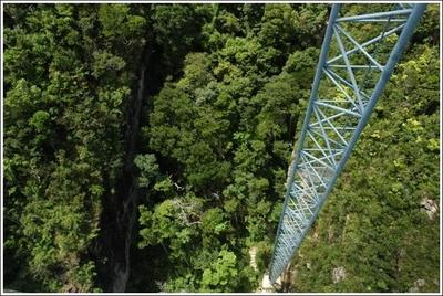 ランカウイ山頂のつり橋05