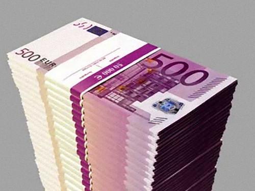 100万ユーロ