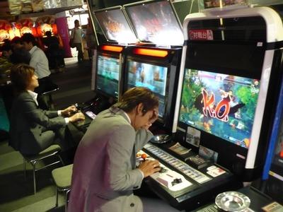 日本のゲームセンターの光景