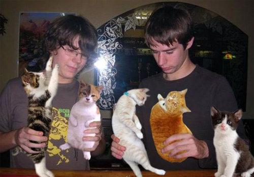 酒の代わりに猫00