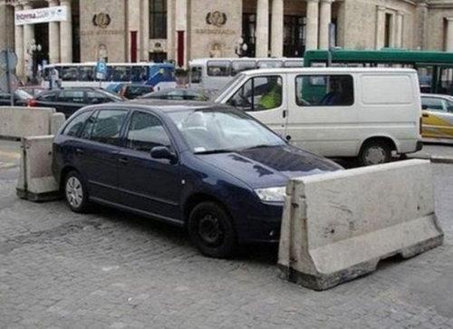 違法駐車12