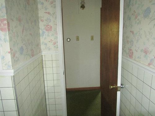 シャワー室の平凡なタイルをクールなデザインに01
