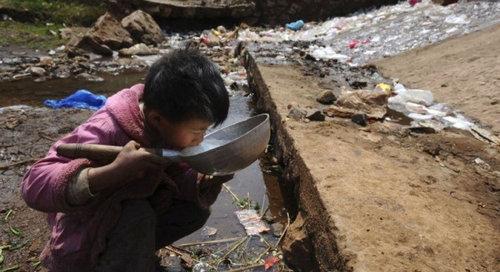 中国のもはや手に負えない公害16