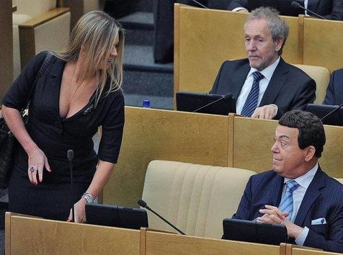 ロシアの議会風景09