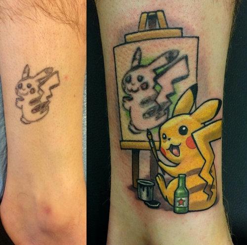 失敗タトゥーのやり直し01