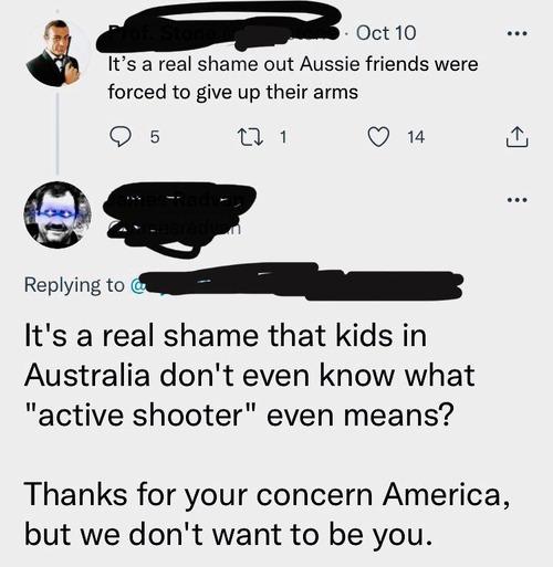 アメリカとオーストラリアの会話01