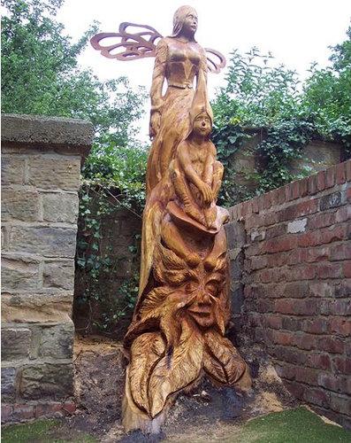 チェーンソー彫刻15