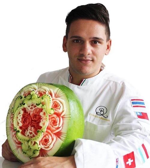 野菜彫刻家10