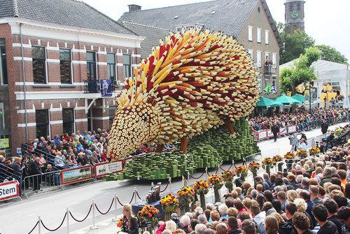 オランダのフラワーパレードとゴッホ07