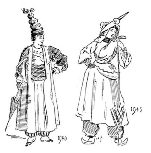 19世紀に想像した20世紀のファッション13