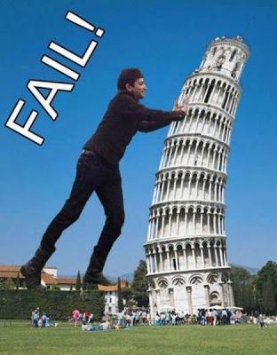 ピサの斜塔の修正写真12