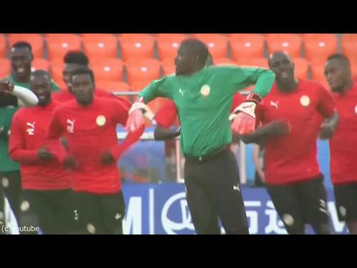 セネガルのトレーニング00