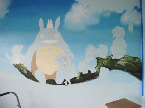 子供部屋に描いたジブリ03