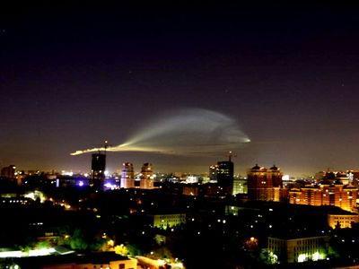 モスクワ上空の飛行物体00