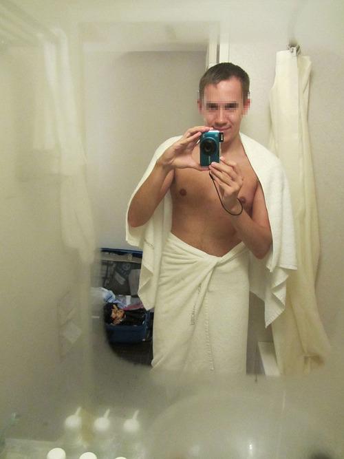 日本のホテルの洗面所は曇らない部分02